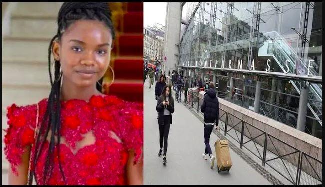 L'élève Diary Sow aperçue à la gare de Montparnasse (vidéo)