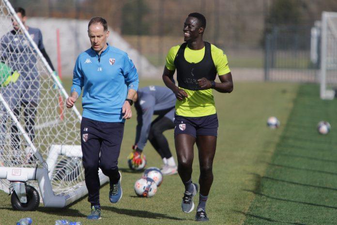 Metz: Ibrahima Niane a repris les entrainements (Vidéo + photos)