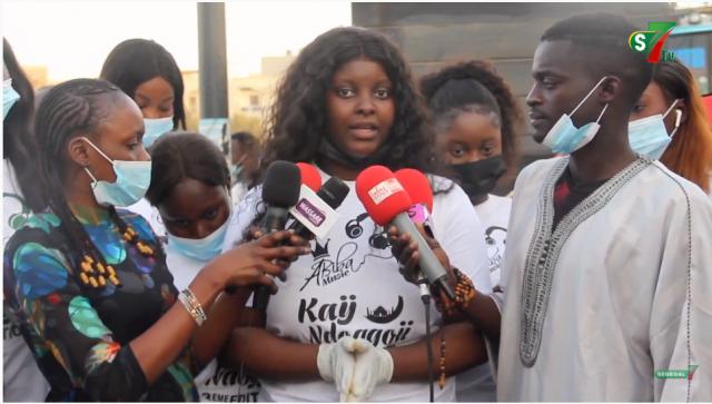 Vidéo – Distribution de Ndogou avec Abiba et sa team
