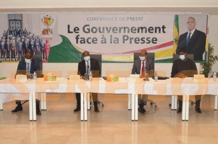 """""""Le Gouvernement face à la presse"""": Moussa Baldé et Samba Ndiobène Kâ face aux journalistes ce jeudi"""