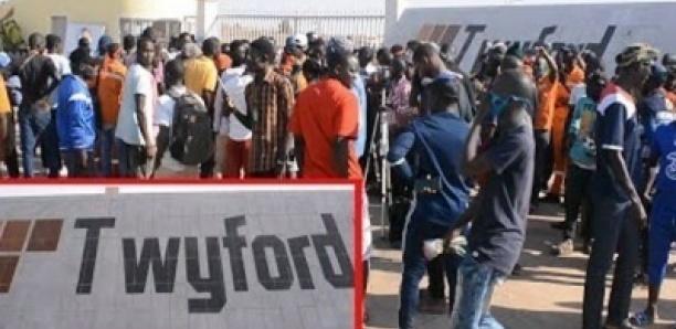 Les 25 travailleurs de Twyford mis en liberté provisoire. Author : Buzzsenegal