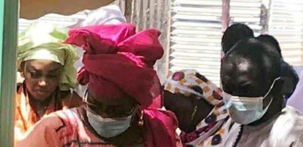 Touba: Sokhna Aïda Diallo débarque dans la plus grande discrétion