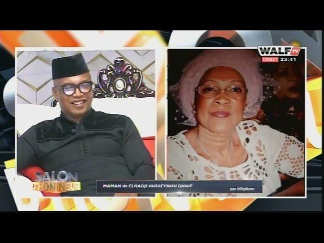 """Témoignage émouvant de la mère de El Hadj Diouf : """"Gaindé la, domou Gaindé la kéneu douko yapp"""""""