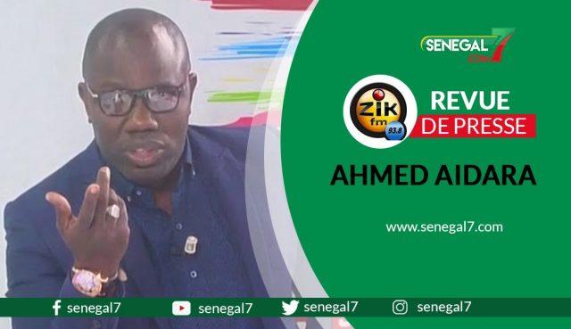 Revue de presse zik fm du vendredi 11 juin 2021 par Ahmed Aidara