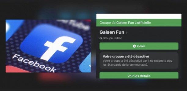 Facebook désactive le groupe Galsen Fun, pour avoir validé des publications contre les h0mosexuels (photos)