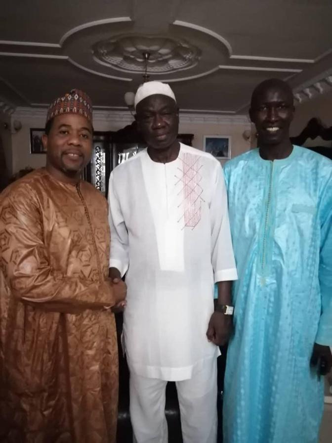Banlieue de Dakar: Daour Niang Ndiaye, ancien Maire, rejoint Bougane Guèye Dany