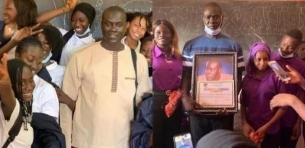 Lycée Amadou Ndack Seck : Un prof de philo célébré par ses élèves