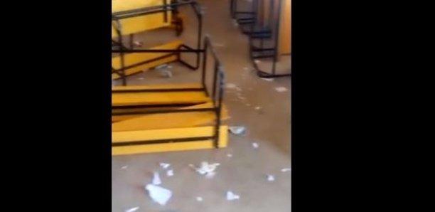 CEM de Hann : Pour fêter la fin de l'année, des élèves vandalisent leur école