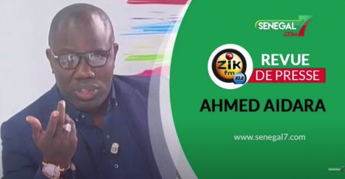 Audio: Revue de presse (wolof) Zik Fm du Mercredi 04 Aout avec Ahmed Aidara