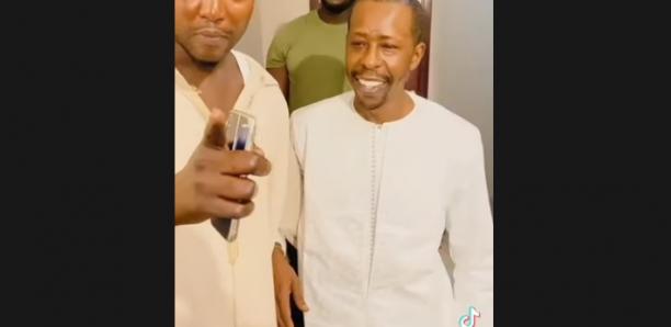 Premier apparition du milliardaire cheikh amar après son accident