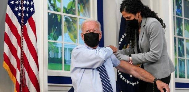 États-Unis :Joe Biden a reçu sa troisième dose de vaccin